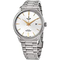 Tudor 41 mm Style Automatic Silver Dial Men's Watch