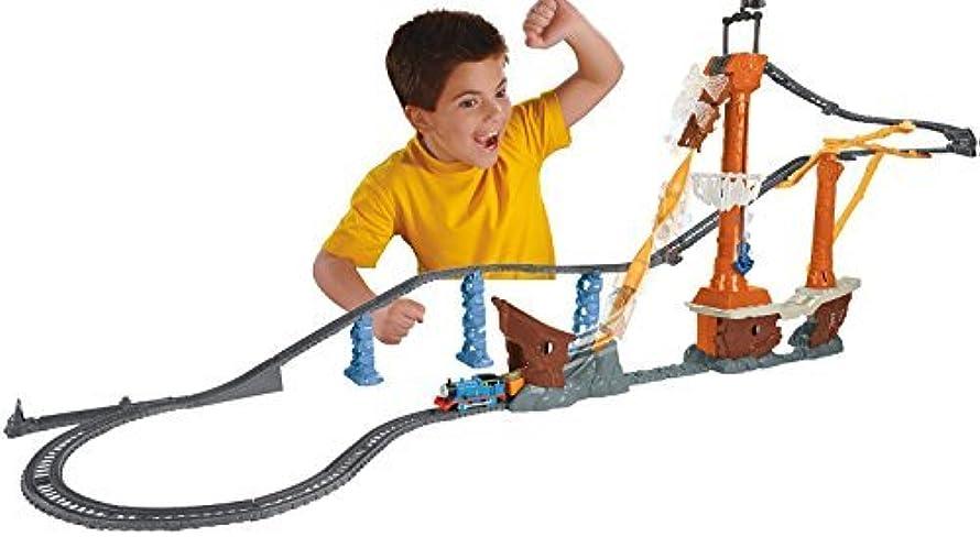 害政策皿Fisher-Price Thomas the Train TrackMaster Shipwreck Rails Set [並行輸入品]