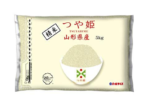 【精米】 [Amazon限定ブランド] 580.com 山形県産 白米 つや姫 5kg 令和2年産
