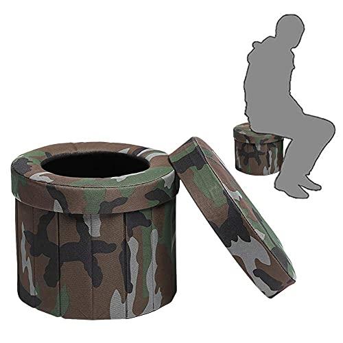HEXLONG WC plegable WC portátil silla de inodoro anciana embarazada adulto inodoro móvil taburete para inodoro de coche inodoro largo viaje