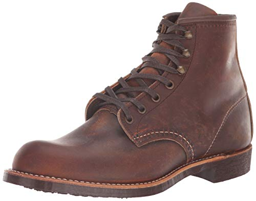 Red Wing Heritage Men's Blacksmith Work Boot, Copper Rough and Tough, 7 D US
