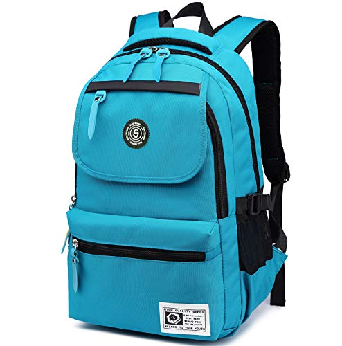 SUPA MODERN Unisex Nylon School Bags Waterproof Hiking Backpack Cool Sports Backpack Laptop Rucksack School Backpack
