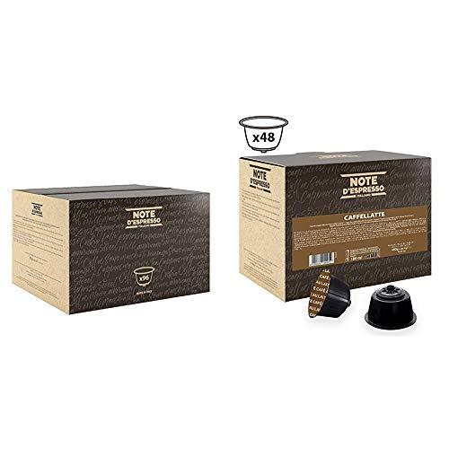 Note D'Espresso Cápsulas de Café de Colombia - 96 x 7 g,...