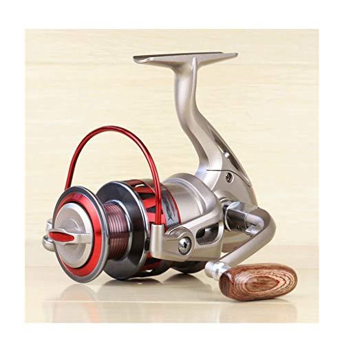 WYHM Carrete de Pesca Metal Spinning Pesca Reel 1000-7000 Series Izquierda/Rocker Derecha Intercambiable 5.5: 1 10BB + 1 Bolas de rodamiento Rueda de Pesca (tamaño : 5000 Series)