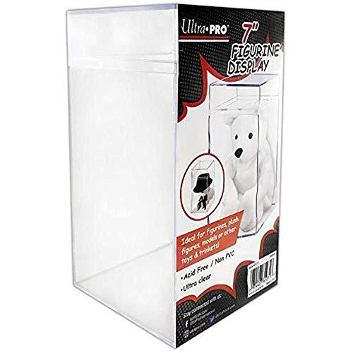 Ultra Pro Unisex's E-81271 Toy Storage & Figurine Display Case, Clear, 3-3/4' x 7-1/16