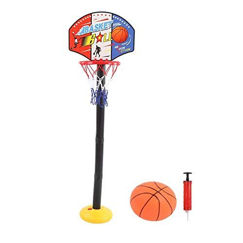 Soporte de Baloncesto para niños Juego de Deporte de Baloncesto Juguete Interior al Aire Libre Altura Estable Ajustable Juego de Soporte de Baloncesto para niños niños pequeños(#1)