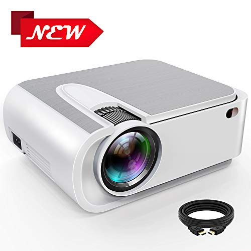Projector,Xinda 5500 Lux Outdoor Projector,1080P and 210