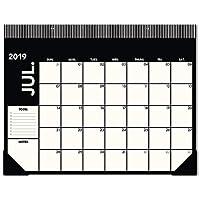 Emily + Meritt 2019-2020 アカデミック年月間デスクパッドカレンダー L 21-3/4インチ x 17インチ 大型デスクパッドカレンダー (EM200-704A)