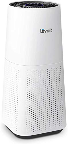 LEVOIT Air Purifier for Home Large Room with H13 True HEPA, Filter for Allergies and Pets Cleaner for Mold, Pollen, Dust, Quiet Odor Eliminators for Bedroom, Smart Sensor, Auto Mode, White