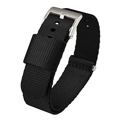 BARTON WATCH BANDS -  -Armbanduhr- JNATBLACK18