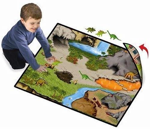 nuevo listado Neat-Oh    Dinosaur Prehistoric World 2-Sided Playmat w  2 Dinos by Neat-Oh  Tu satisfacción es nuestro objetivo