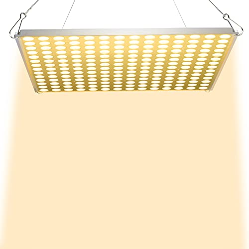 LED Grow Light, 100W Full Spectrum Led Grow Light for Indoor Plants Seedling,Growing,Blooming and Fruiting & Indoor Plants Hydroponics Greenhouse Veg and Succulents, Flower