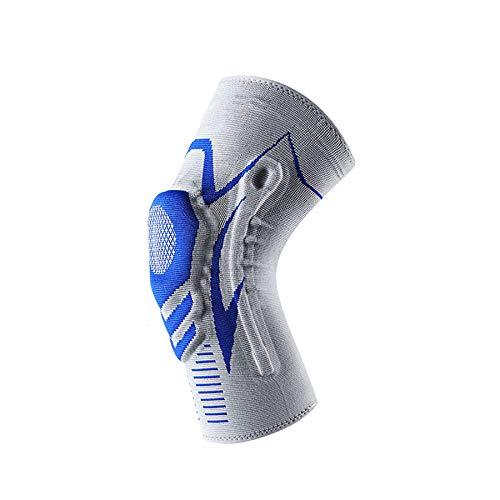 Kniebandage für Sport,Kniebandage stabilisiert und unterstützt das Gelenk für Männer Damen,Knie Bandage mit Silikonring für Fitness oder Joggen