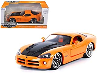 Jada Bigtime Muscle 2008 Dodge Viper SRT10 1:24 Scale (Orange)