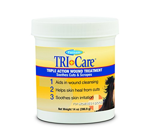 Farnam Triple Action Wound Treatment | For Horses, Ponies and Dogs | 14 oz