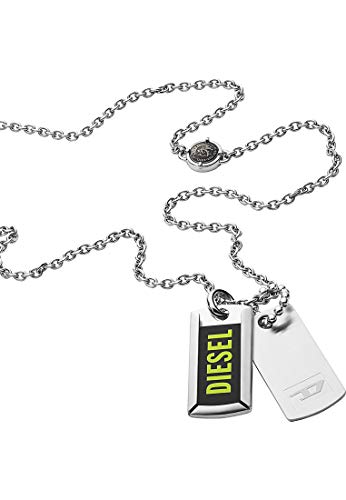 Diesel Collares de los hombres acero inoxidable Sin piedras preciosas No aplica aplica - DX1245040