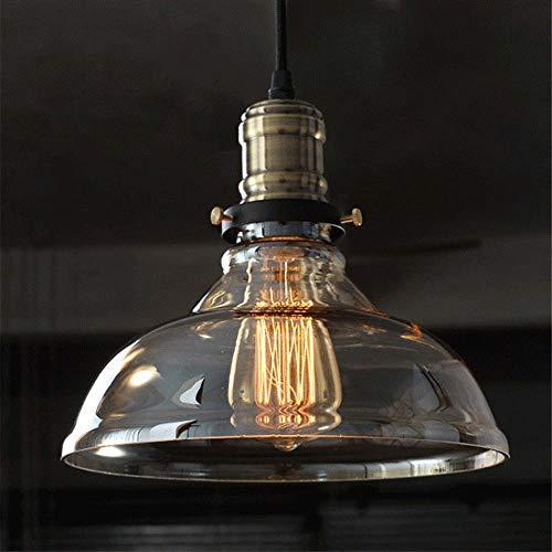 Cognac hanglampen glas lamp lamp hanglamp glazen lampenkap hanglamp licht voor gang bar restaurant