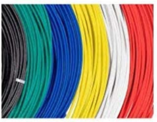 3D Print Shoppy Flashforge 1.75mm PLA 5M Filament Set of 10 Colour Rolls Starter Kit for 3D Printing Pen