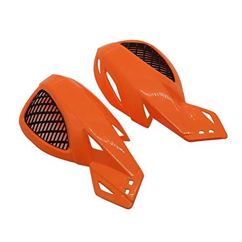 LIZONGFQ Zhang Asia For Adaptarse Universal 22mm 7/8 Manillar de la Motocicleta apretones de la Mano Aptos for la Kawasaki Yamaha Suzuki Toyota Benelli KTM Ducati Monster (Color : Orange)