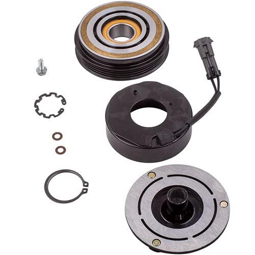 SUNROAD A/C Compressor Clutch Coil Kit Replacement for GMC Sierra 2500 HD 6.0L 8.1L 2001 2002