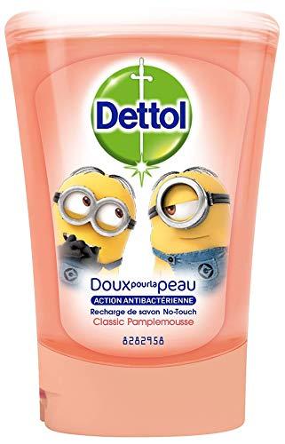Dettol No-Touch Kids - Recharge Savon Mains - Pamplemousse - 250 ml