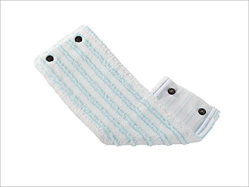 Leifheit Wischbezug Clean Twist XL micro duo, für alle Bodenarten, Bodenwischer Ersatzbezug für ideale Schmutzaufnahme dank 2-Faser-System, Mikrofaser Wischbezug ideal für Fliesen und Laminat