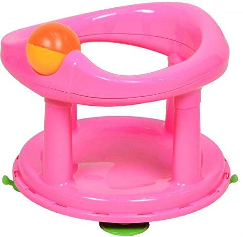 Baby Neugeboren Säugling wasser tube Bad Stütze Polster Sitz Sicherheit 1. Schwenkbare - Rosa