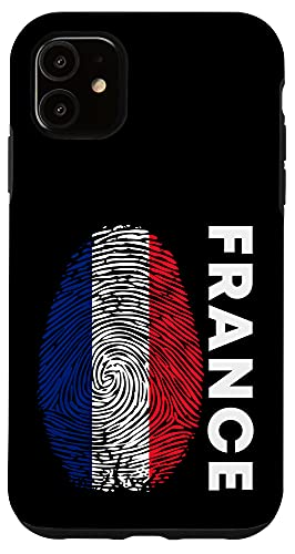 iPhone 11 French Flag France DNA Football Fan Jersey Case