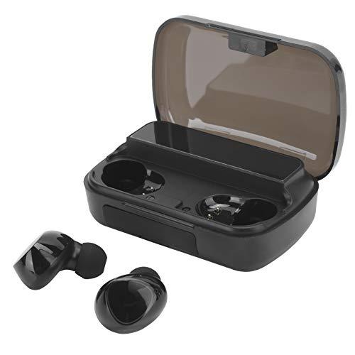 Auricular Bluetooth para Teléfonos Móviles/Tabletas, Control Táctil Auricular Inalámbrico Bluetooth con Pantalla LED De Alimentación Digital, Compatible para Android/para iOS(M10)