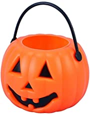 "Western Era Kids ""Pumpkin"" Portable Candy Basket for Halloween, Fancy Dress - Party, Show, Funtion, Décor ( 1 Piece)"