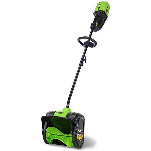 Greenworks PRO 12-Inch 80V Cordless Snow Shovel, Battery Not Included 2601202