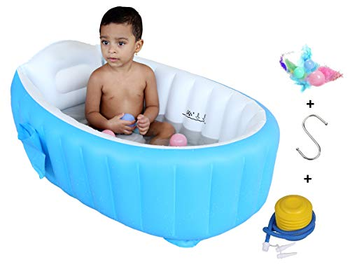 Cho-Cho Inflatable Bath Tubs European Standard Inflatable Baby Bath Tub with Pump