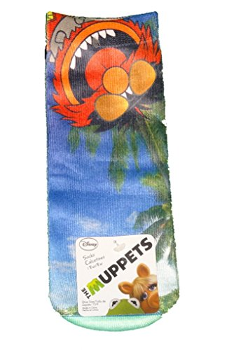 The Muppets Animal Girls Character Socks (Shoe Size 13-9)