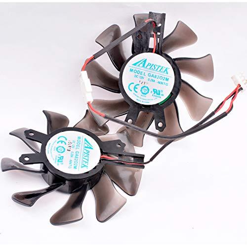 Ayazscmbs Cooler Lüfter für Galaxy GTX650 740 750 650TI BO0ST Graphics Kühlung Lüfter