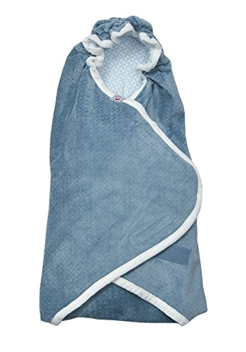 Steel-Grey Lodger Scandinavian Flannel Nappy Changing Set