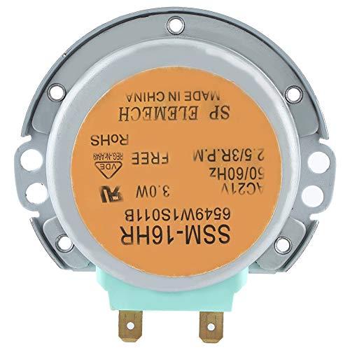 Motor de plato giratorio de microondas apto para horno de microondas LG serie SSM-16HR 6549W1S011B Motor de plato giratorio de horno microondas AC 21V