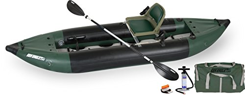 Sea Eagle 350FX Inflatable Fishing Explorer Kayak Package