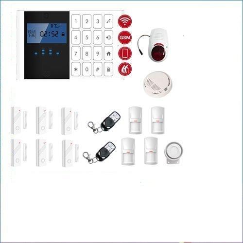 Alarmsysteem huis Shop garage camper kit stuurwals GSM draadloze beschermhoes