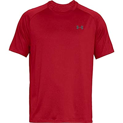 Under Armour UA Tech Short Sleeve Tee Red/Graphite LT