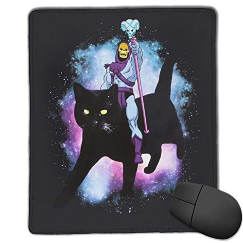 Eliphs Skeletor The Mouse Pad with Stitched Edge Premium-Textured Mouse Mat Rectangle Non-Slip Rubber Base Gaming Vertical Mouse Pad,for Laptop Computer & Pc 10x12 in