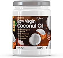 Optima Organic Coconut Oil, 453 g