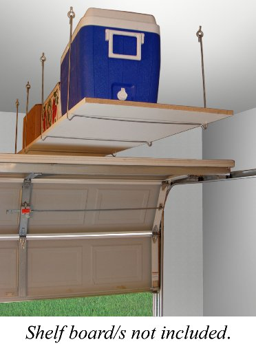 Quick - Shelf Hangers Overhead Ceiling Mount Storage Unit