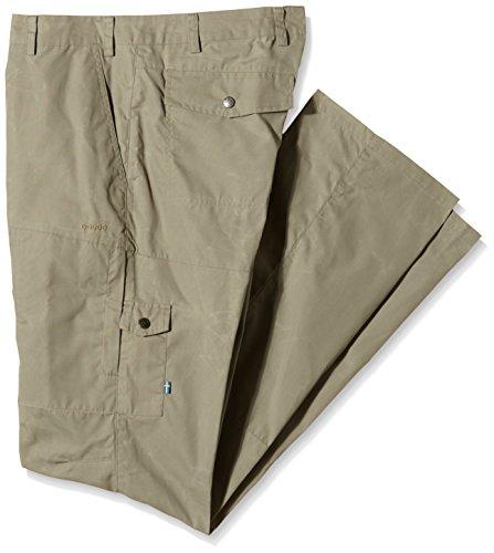 Fjällräven - Karl - Pantalon de Camping et Randonnée - Homme - Vert (Light Khaki) - Taille: 44