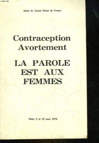 Contraception avortement - la parole est aux femmes