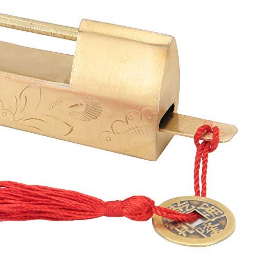 Qinyayoa Cerradura China, candado, a Prueba de Herrumbre para gabinetes pequeños Cajas de Madera