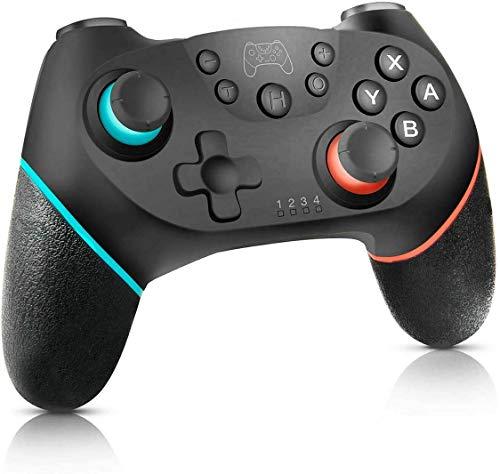 CIEL Mando Lnalámbrico para Nintendo Switch,Mando Switch,Con Funciones de Motor,TURBO y Giroscopio,Compatible con el Sistema de Conmutación y PC,Compatible con Todos los Juegos de Switch