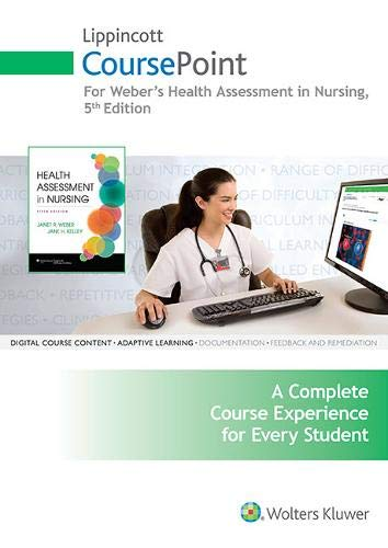 Health Assessment in Nursing Access Code (CoursePoint)