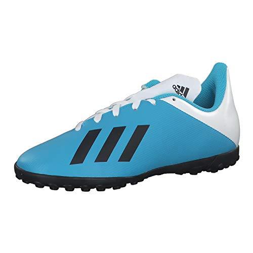 adidas Unisex-Child F35347_32 Turf Football Trainers, Blue, EU