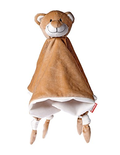 Baby geeignetes Schnuffeltuch Schmusetuch Kuscheltuch Bär / Stofftier Plüschtier Kuscheltier Oeko-TEX ® Zertifiziert