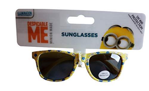 Offizielles Lizenzprodukt Jungen Despicable Me Minions Oval Sonnenbrille UV 400Schutz